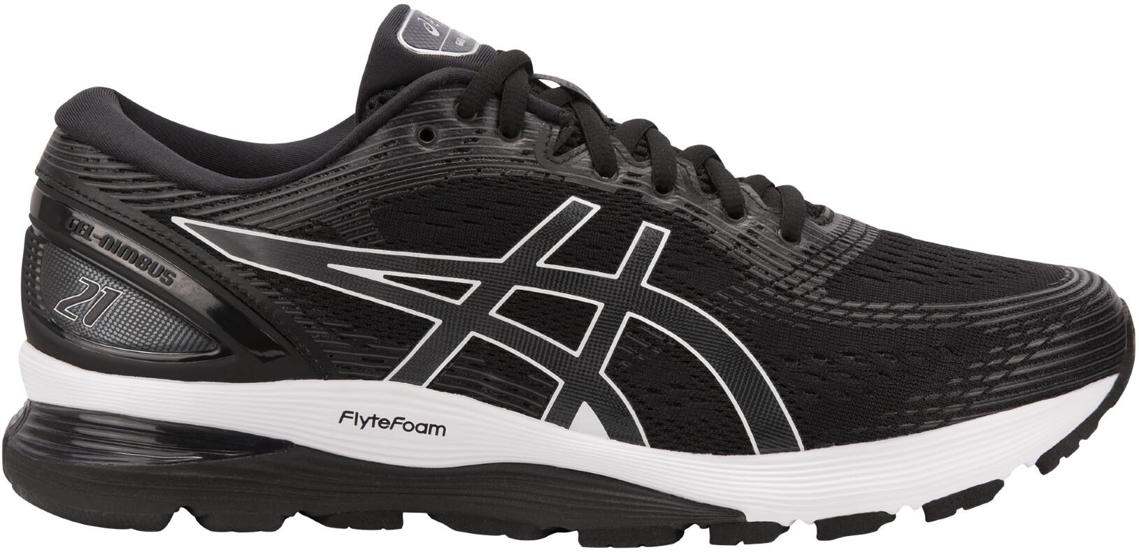 cheap for discount 33902 8c747 asics Gel-Nimbus 21 Shoes Men, black dark grey